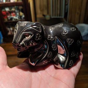 Rinconada panther statue
